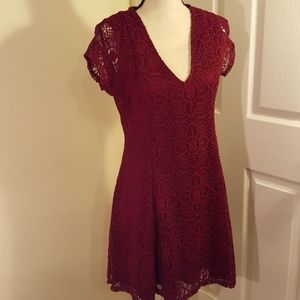 EXPRESS Crocheted Dress, Size M